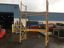 "4 SECTIONS  PALLET RACK 32' L X 12'T X 44"" DEEP , CLEAN RACKING , HD"