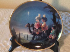 Hc Collector Plates:Precious Moments (They Followed the Star)