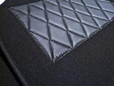 Kompl. Teppichsatz für Fiat 2300 Coupe S 61-68 Velour Schwarz