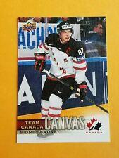 2017-18 Upper Deck Team Canada Canvas #TCC-1 Sidney Crosby SP