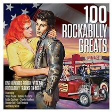 100 Rockabilly Greats Hundred Original Rough 'N' Ready Rockabilly Tracks 4 CDs