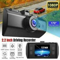 "2.2"" Mini Dash Cam 1080P HD Car Camera Driving Recorder W0E3 Night Vision F7Y9"