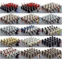 21/22 Pcs Minifigure Star Wars Clone Trooper Captain Rex Palpatine Army Lego MOC
