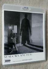 SHADOWS AND FOG (1992) Woody Allen film. Arrow Academy. uk region B BLU RAY