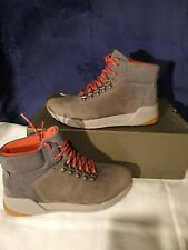 Timberland Womens Kiri Up Waterproof Hiker Hiking Boot Shoes Hiker Gray Beige US