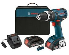 Bosch HDS182-02 18-Volt 1/2-Inch 2.0Ah Compact Tough Hammer Drill Driver Set