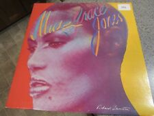 GRACE JONES! - 1979, Self Titled, Warner Brothers Records Album, Pre-Owned