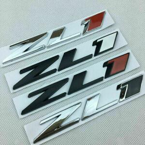BRAND NEW ZL1 trunk Badge Emblem Rear Hood Nameplate Sticker For CAMARO Chevy