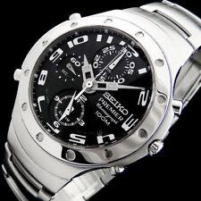 Seiko reloj hombre premier sdwg21 vintage cronometro alarma cristal zafiro