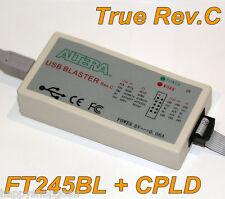 Original Rev.C Hardware! Altera USB Blaster Download Cable FPGA CLPD NIOS JTAG