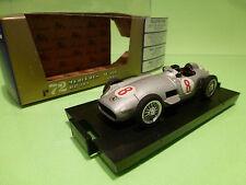 BRUMM R72 MERCEDES BENZ W196 HP 293 - RACE CAR 1954 - F1 SILVER GREY 1:43 - NMIB