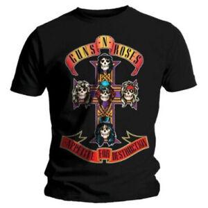 Guns N Roses Appetite For Destruction Shirt S-5XL T-Shirt Official Tshirt New