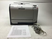 HP Color LaserJet CP2025dn Workgroup Laser Printer CB495A w/ Toner, 4 Pages