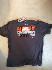 Baltimore Orioles Postseason 2014 East Division Champions T Shirt XXL w/tags