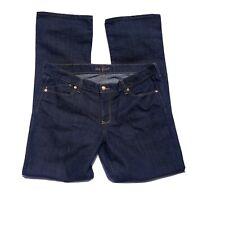 Old Navy Womens The Flirt Jeans Sz 14 L  Dark Blue Mid Rise Bootcut Stretch