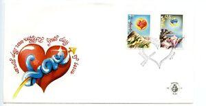 Aruba FDC 1990 Culture Animals 1988 Love Hearts H192