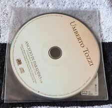 Umberto TOZZI cd singolo Promo ANCH'IO IN PARADISO Musica Italiana
