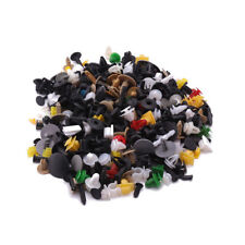 500pcs Mixed Trim Rivets Fastener Bumper Fender Panel Clips Plastic Fasteners