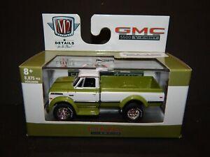 M2 Machines $.99 auction 1970 GMC 5500 Truck Pick Up Avocado & White MIP VHTF
