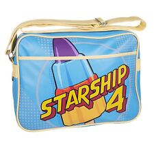 WALLS ROCKET LOLLY STARSHIP RETRO STYLE SHOULDER MESSENGER GYM SCHOOL SPORTS BAG