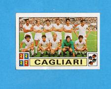PANINI CALCIATORI 1975-76-Figurina n.42- SQUADRA/TEAM - CAGLIARI -Recuperata