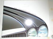 Jaguar XJ6 Sovereign XJ12 range brochure 1996