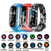 Universal M3 Smart Bracelet Watch Blood Pressure Heart Rate Monitor Wristband