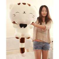 Cute Plush Stuffed Toy Cartoon Cat Doll Birthday Gift for Kids boys girls
