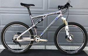 Titus Racer-X Full Suspension Mountain Bike DT Swiss 240 Wheels Shimano XT NICE!