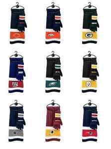 NFL Winter Scarf & Glove Set - Pick Your Team