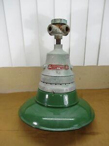 Appleton Vintage Green Enamel Porcelain Explosion Proof Industrial Barn Light