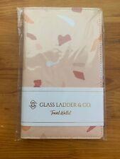 Glass Ladder & Co. - Terrazzo Travel Wallet - Vegan Leather