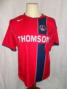 Maillot NIKE PSG Paris Saint Germain Thomson TM Rouge Football Ligue 1