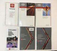 2020 Toyota Tacoma Owners Manual