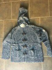 New Odd Molly Worthy Indigo SUPER SOFT Hoodie Cardigan  Size  3 Large