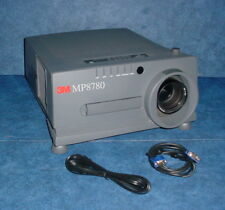3M MP8780 LCD Projector, 2,300 Lumens, 200:1 Contrast, 4:3 Aspect Ratio (XGA)