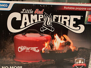 """Camco Little Red Campfire 11.25"""" Portable Propane Outdoor Camp Fire"""