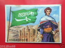 figurines cromos cards figurine sidam gli stati del mondo 12 arabia saudita flag