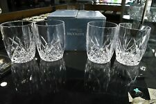 Marquis by Waterford Crystal Brookside Set of 4 Double Old Fashioned Glasses