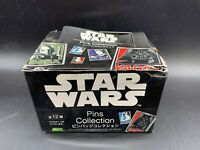 Star Wars Pins Collection BOX Of 12 Pins Brand New Max Limited