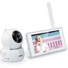 VTech VM991 Wireless WiFi Video Baby Monitor w/ Remote Access App 5-inch Pan