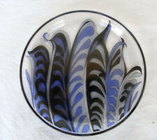 RARE Emilio Pucci for Rosenthal Studio-Line Decorative Charger GLASS Plate