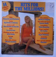 LP Various ‎– Hits For The Millions Sexy Girl Cheesecake Kraftwerk Bots Nm 1975