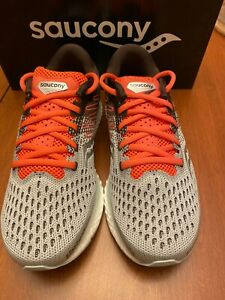 Saucony Women's Freedom 3  Sky Gray/Coral *NEW *SHIPS FREE8 was $150 now $84.99