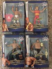 LOT 4 WWE ELITE HALL OF FAME SERIES 2 YOKOZUNA,HULK HOGAN,EDDIE GUERRERO.IN HAND