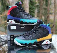 Nike Air Jordan 9 Retro GS Size 7Y Dream it Do It Black Red 302359-065