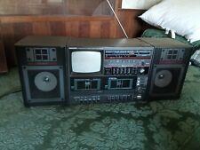 Vintage radio cassette stereo tape player TV Daewoo av 310 80's ghettoblaster