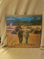 Of Mice and Men - Letterbox Edition- Laserdisc LD - Gary Sinise - John Malkovich