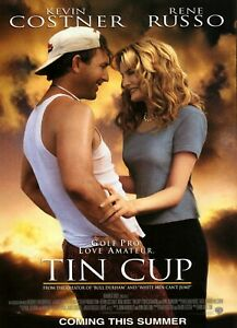 Tin cup movie poster  A4 Size