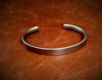 "Men's ""Oxidized Silver"" Heavy Solid Sterling 925 Silver Torque Bangle Bracelet"